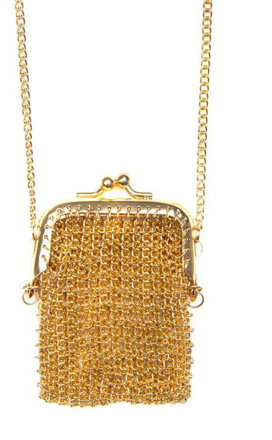 MANGO Long chain necklace