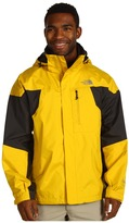 The North Face Men's Mountain Light Jacket (Oriole Orange/Asphalt Grey) - Apparel