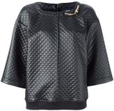 Class Roberto Cavalli quilted top