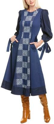 Mary Katrantzou Tracey Silk-Lined Midi Dress