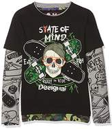Desigual Boy's TS_Ronan Long Sleeve Top,(Manufacturer Size: 3/4)