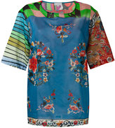 Pierre Louis Mascia Pierre-Louis Mascia - Stich T-shirt - women - Cotton - M