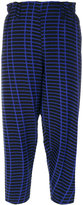 Issey Miyake printed cropped trousers