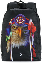 Marcelo Burlon County Of Milan Kids - eagle print backpack - kids - Nylon/Polyester - One Size