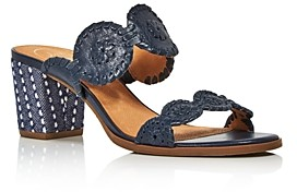 Jack Rogers Women's Lauren Leather Sandals