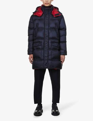 Emporio Armani Padded shell-down coat