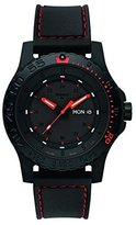 Traser 105503 Men's Professional Red Combat Rubber Strap Dial Dive Watch