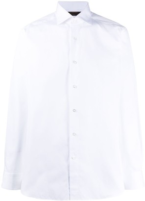 Ermenegildo Zegna Long-Sleeve Buttoned Shirt