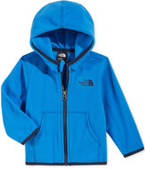 The North Face Baby Boys' Blue Glacier Zip-Up Hooded Jacket
