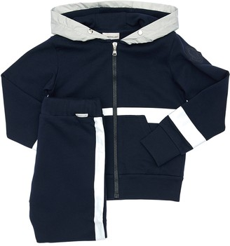Moncler Cotton Sweatshirt Hoodie & Pants
