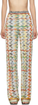 Missoni Multicolor Large Knit Lounge Pants