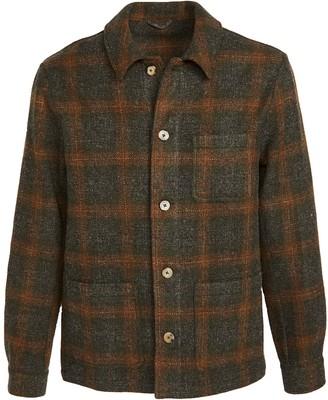 De Bonne Facture Italian Washed Wool Work Jacket