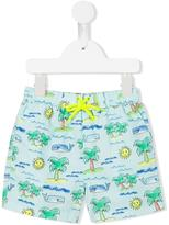 Stella McCartney sea print swim shorts - kids - Polyester - 2 yrs
