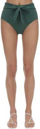 Eberjey Nina Stretch Nylon Pique Bikini Bottoms
