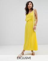 Boohoo Lace Detail Maxi Dress