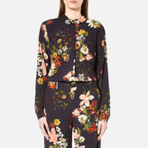 Gestuz Women's Cally Floral Print Shirt Multi Colour Flower