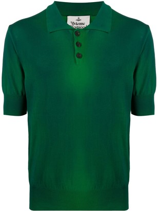Vivienne Westwood Washed Logo Polo Shirt