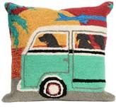 Liora Manné Beach Trip Sunset Throw Pillow