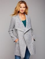 A Pea in the Pod Bb Dakota Drape Front Maternity Jacket