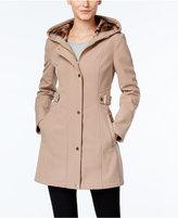 Via Spiga Water-Repellent Hooded Raincoat