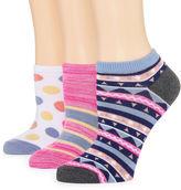 MIXIT Mixit 3-pc. No Show Socks