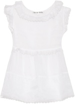 JUPE BY JACKIE Stein cotton-organza top