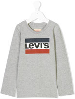 Levi's Kids branded long sleeve T-shirt