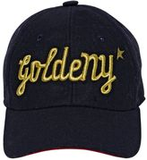 Golden Goose Deluxe Brand Goldeny Wool Canvas Baseball Hat