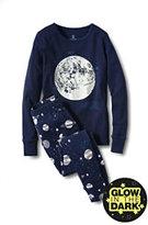 Classic Girls Snug Fit Pajama Set-Twilight Indigo Heather