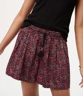 LOFT Garland Fluid Drawstring Shorts
