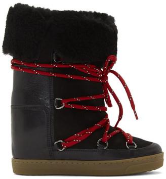 Isabel Marant Black Nowly Boots