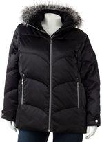 Zeroxposur hooded down puffer jacket - women's plus