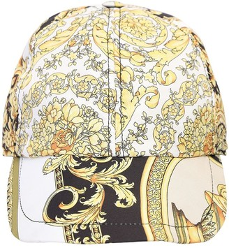 Versace Baroque Print Baseball Hat