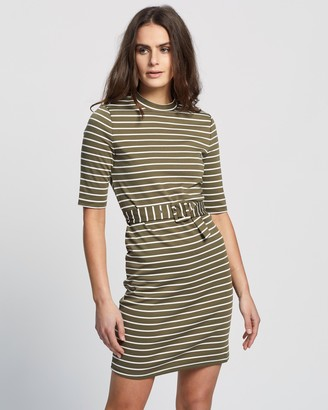Only Frida 3/4 Belted Sweater Dress