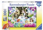 Ravensburger Girl's Magical Fairy Night 100-Piece Puzzle