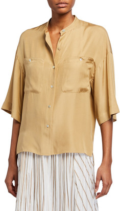 Vince Short-Sleeve Utility Shirt