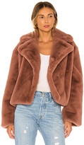 BB Dakota Big Time Plush Faux Fur Jacket