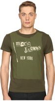 Marc Jacobs Slim Fit Classic Jersey Tee Men's T Shirt