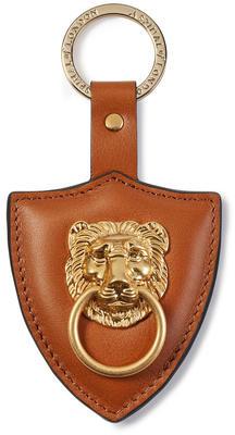 Aspinal of London Large Lion & Shield Keyring