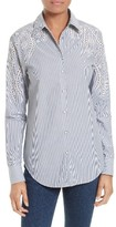 Rag & Bone Women's Sahara Eyelet Cotton Shirt