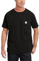 Carhartt Men's Big & Tall Force Cotton Short Sleeve T-Shirt Relaxed Fit