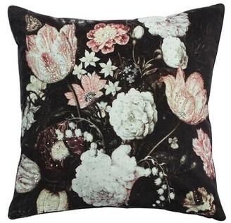 Amaya Cloud9 Design Velvet Throw Pillow Cloud9 Design