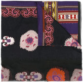 Etro colourful print scarf