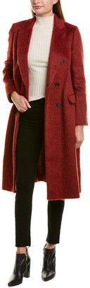 Brunello Cucinelli Wool & Alpaca-Blend Coat