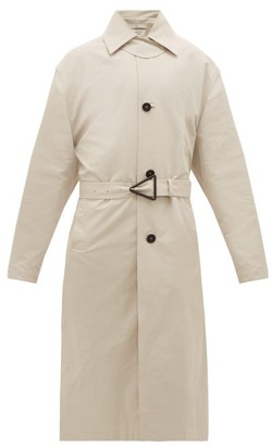 Bottega Veneta Belted Shell Trench Coat - Beige