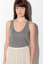 Oversized Racerback Tank Top
