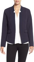 Ellen Tracy Petite Women's Fitted Reverse Lapel Blazer
