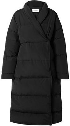 Totême Quilted Cotton-blend Canvas Down Coat