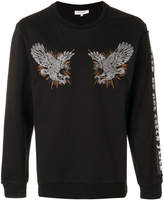 Les Benjamins embroidered sweatshirt