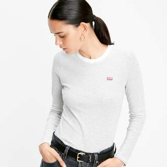 Levi's Striped Logo T-Shirt with Long Sleeves